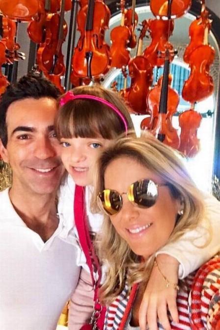 Ticiane Pinheiro comemora aniversário com viajem em família