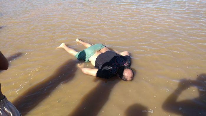 Bombeiros encontram um morto e buscam mais duas pessoas no rio Parnaíba