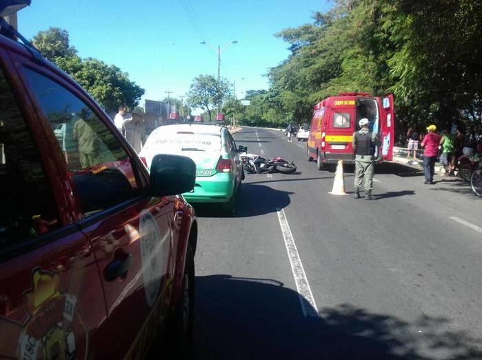 Local do acidente  (Crédito: Reprodução)