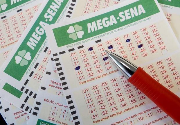 Mega-Sena (Crédito: Reprodução )