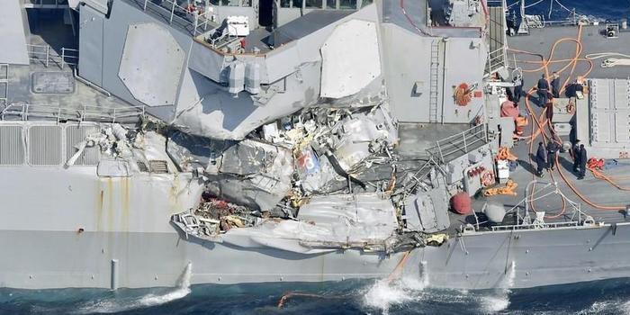 Encontrados mortos 7 marinheiros em navio que bateu em cargueiro