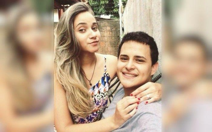 Marina Helena e Diogo foram mortos a tiros em Aparecida de Goiânia  (Crédito: Arquivo Pessoal)