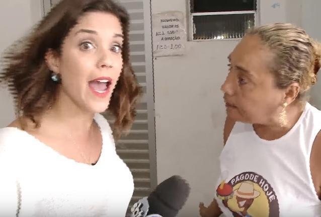 Jornalista é agredida durante reportagem em feira de Salvador