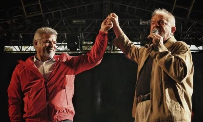 Lula em posse de Wagner Santana, novo presidente do Sindicato dos Metalúrgicos do ABC