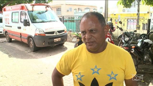 Vitório Araújo, motorista da ambulância (Crédito: Reprodução)