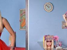 Mulher gasta R$ 45 mil para ficar parecida com boneca Barbie