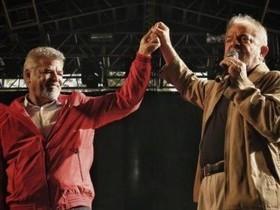 `Desgraça tomou conta desse país', afirma ex-presidente Lula