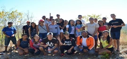 Adolescentes do programa SCFV visitam a Serra do Vigário