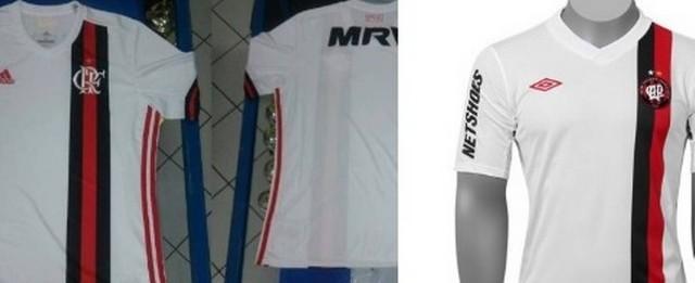 Nova camisa do Flamengo é semelhante à do Atlético-PR de 2012
