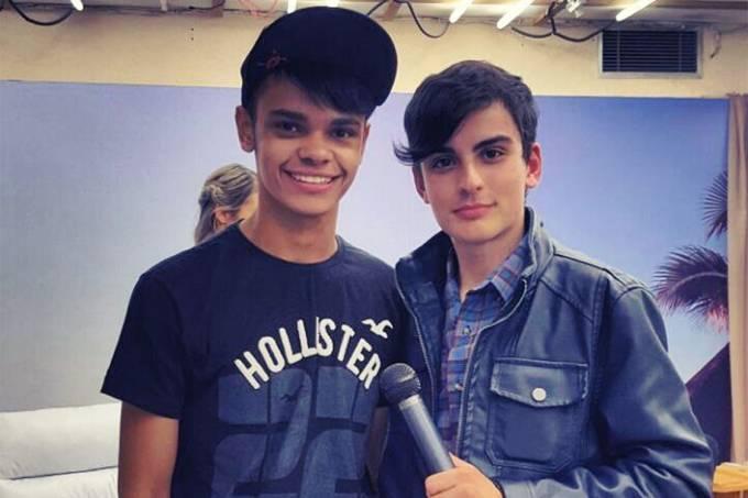 Robert Oliveira e Dudu Camargo