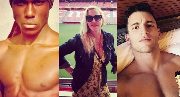 Madonna termina relacionamento com modelo marfinense