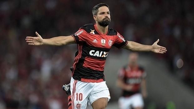 Meia Diego, do Flamengo