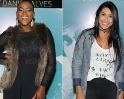 Ex-BBBs Angélica Ramos e Amanda Djehdian se evitam em evento