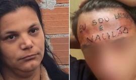 """Mãe de adolescente tatuado:""""se fosse um filho de rico era tortura"""""""