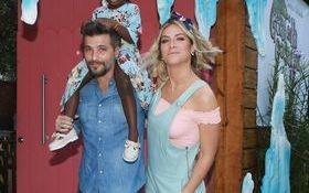 Bruno Gagliasso e Giovanna Ewbank recebem famosos em festa da filha