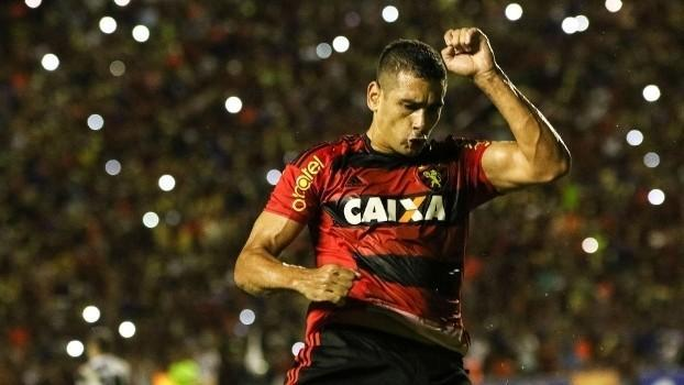 Diego Souza comemora gol pelo Sport (Crédito: Reprodução)