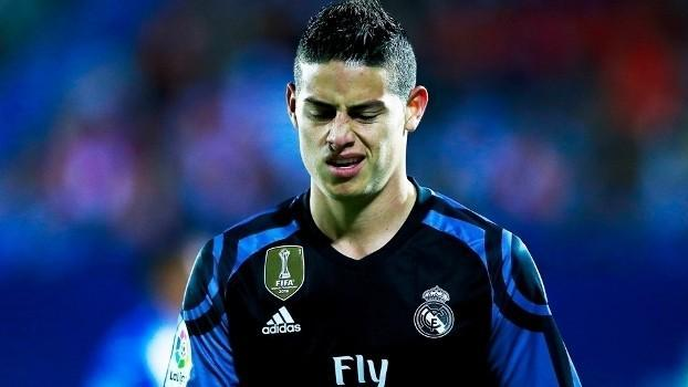 James Rodriguez é presença incerta para a próxima temporada do Real Madrid (Crédito: Getty)