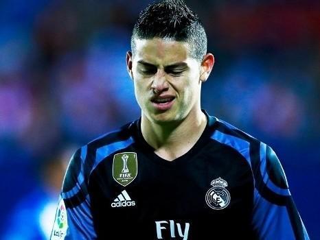 Sem espaço no Real Madrid, James Rodriguez pode ir para o Milan