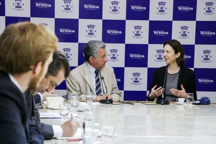 Vice-prefeito esteve reunido com representantes da União Europeia (Crédito: Reprodução )