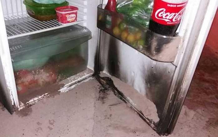 Residências e eletrodomésticos ficaram destruídos  (Crédito: Reprodução)