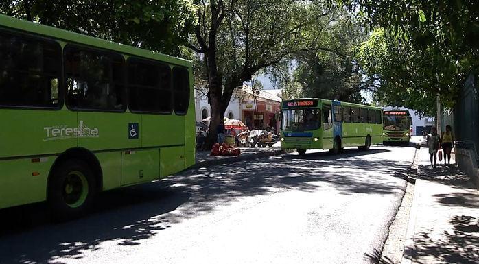 Frota ônibus será reduzida em Teresina (Crédito: Reprodução)