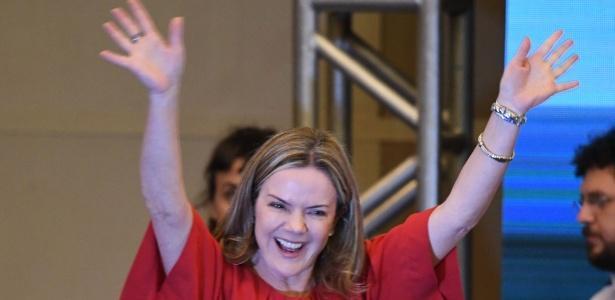 Senadora Gleisi Hoffmann (Crédito: Reprodução)