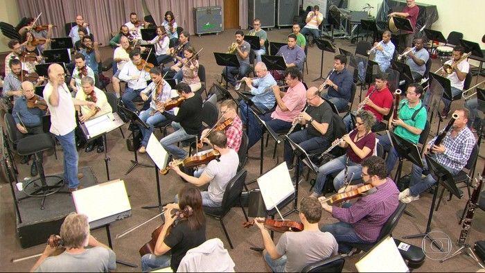 Músicos da Orquestra Sinfônica Brasileira fazem espetáculo para dividir o dinheiro da bilheteria, (Crédito: Reprodução)