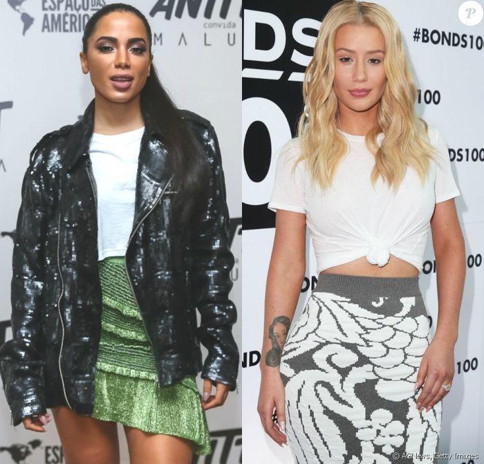 Iggy Azalea nega ter apagado fotos com Anitta após criticas
