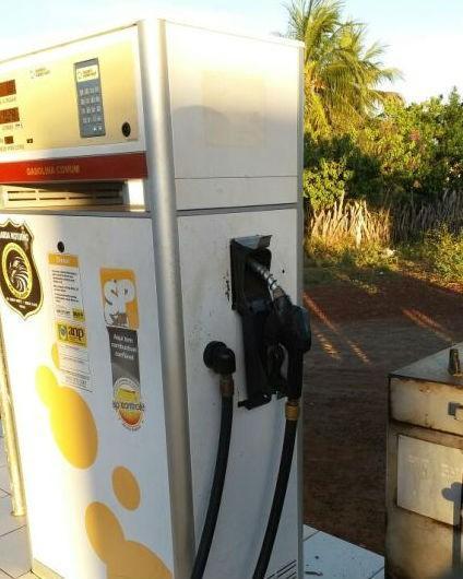 Posto de Gasolina em Santa Rosa do Piauí