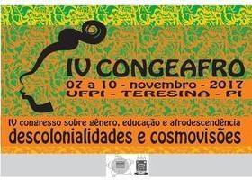 Congresso afro questiona a colonização em Teresina, PI