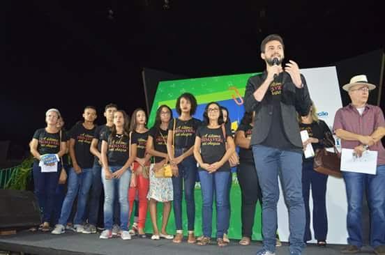 lançamento a nível estadual de filme gravado em São Pedro do Piauí - (Crédito: Unidade Escolar Landrí Sales)