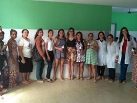 Equipe do Nasf realiza Palestra no Hospital Marcolino Barbosa