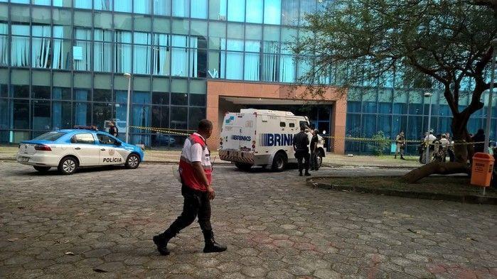 Assalto na prefeitura do Rio deixa dois vigilantes feridos