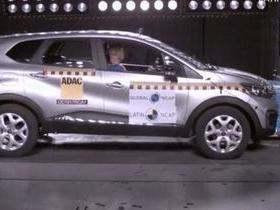 Renault Captur vai bem na segurança e leva 4 estrelas no Latin NCAP