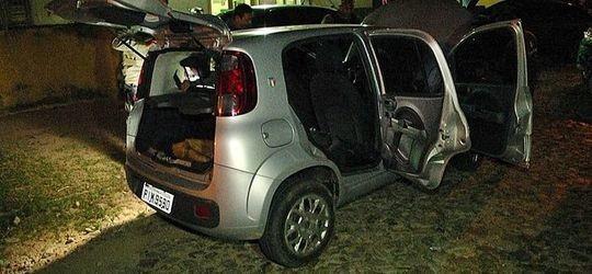 Carro roubado no centro de Parnaíba é recuperado e acusado é preso