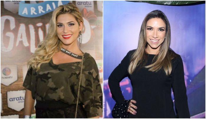 """Lívia Andrade fala sobre """"treta"""" com Patrícia Abravanel"""