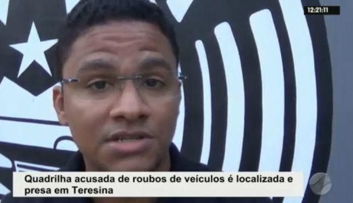 Delegado Luciano Alcântara (Crédito: Rede Meio Norte)
