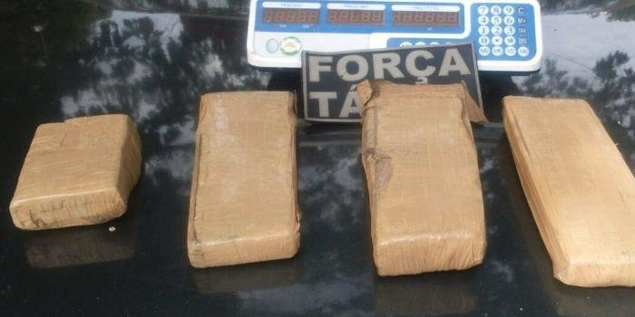 Jovem é preso com 5kg de maconha na zona Leste de Teresina