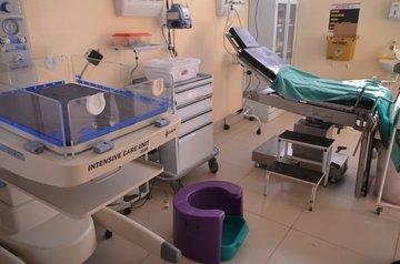 Maternidade do Hospital Estadual Dirceu Arcoverde (Heda), em Parnaíba