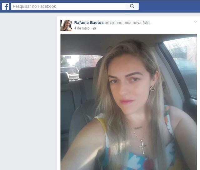 Sandra Rafaela Jefferson Bastos (Crédito: Reprodução)