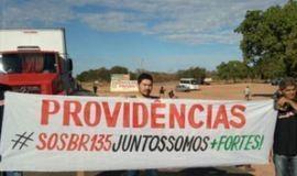 SOS BR 135: Rodovia é bloqueada em Redenção do Gurguéia