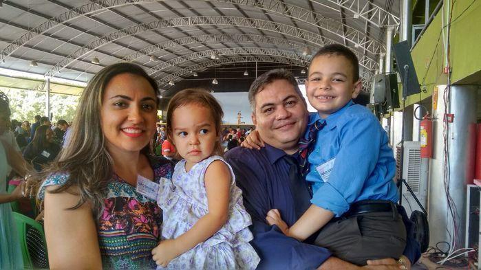 Família Silva  (Crédito: Assessoria)