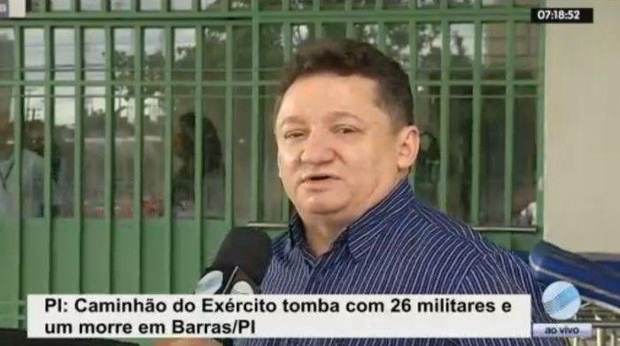 Dr. Gilberto Albuquerque fala sobre estado de saúde das vítimas (Crédito: Reprodução/TV Meio Norte)