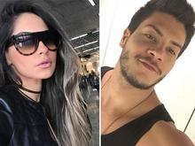 Após assumir namoro, Arthur Aguiar se declara para Mayra Cardi