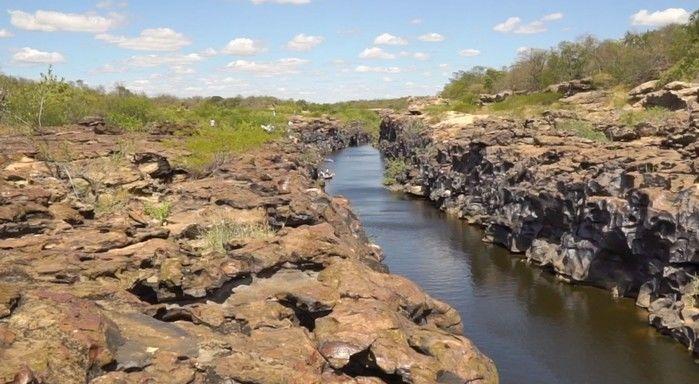 Canyon do rio Poti (Crédito: Reprodução)