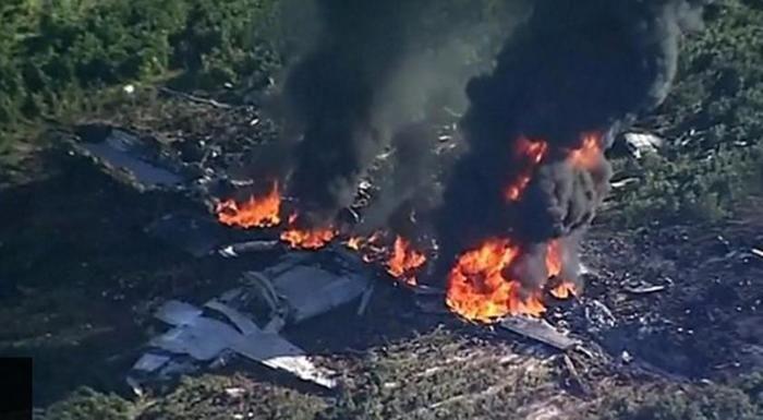 Queda de avião militar mata ao menos 16 pessoas nos EUA