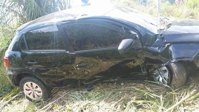 Veículo envolvido no acidente na BR-316 no Maranhão (Crédito: Divulgação)