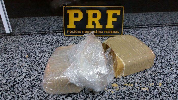 Droga apreendida pela PRF em Floriano (Crédito: Divulgação)
