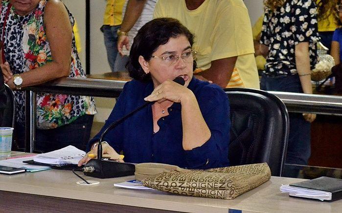 Vereadora Fátima Carmino (PT).  (Crédito: Kairo Amaral)