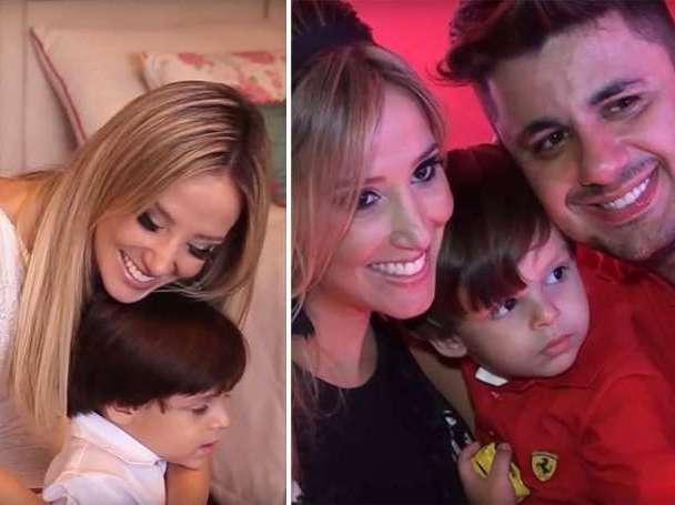 Ex de Cristiano Araújo revela como contou ao filho sobre o cantor
